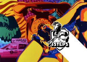 3Steps | Ahead! Show | Buch Book | Ausstellungsbildband Austellungskatalog 2015
